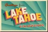 Vintage Card - Lake Tahoe CA