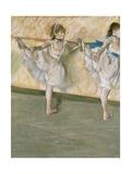 Dancers at the Bar  C 1877-79