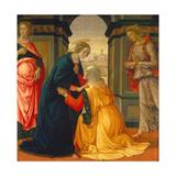 Visitation  with Maria Jakobaea and Maria Salome  1491