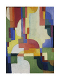 Colourful Forms I  1913