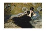 The Lady with the Fans (Nina De Callias)  1873