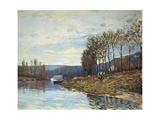 The Seine at Bougival  1873