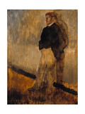 Portrait of a Man Standing with His Hands in His Pockets  1868-1869