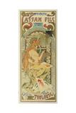 """Werbeplakat Fuer Das Druckhaus """"Cassan Fils""""  1897"""