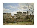 Spring in Pontoise  1872