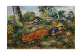 Young Girl Resting in the Shadow (Jeune Fille Couchée Sur L'Herbe)  C 1890-95