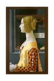 Portrait of Giovanna Tornabuoni  1489-90