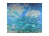 Waterlilies  (Harmony in Blue)  1914-1917