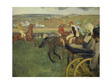 Carriage at the Races  1877-1878