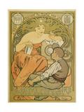 """Werbeplakat Fuer Die """"Société Populaire Des Beaux-Art""""  1897"""
