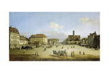 Market-Place of the Neustadt in Dresden  C 1751-52