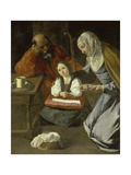 Mary as Child with St Joachim and St Anne