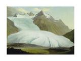 The Rhone Glacier Above Gletsch  1778