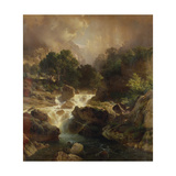 Landscape with Waterfall  1861