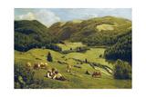 The Valley Near Sankt Blasien  1882