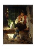 A Tavern Scene  1875