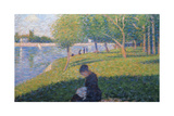 The Seamstress  Study for 'A Sunday Afternoon on the Island of La Grande Jatte'  1886