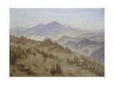 Mountains in Mists Ascending  Ca  1835