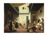 A Jewish Wedding in Morocco  C 1841