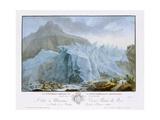 At the Rim of the Grindelwald Glacier
