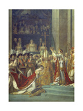 The Consecration of the Emperor Napoleon and the Coronation of the Empress Josephine Notre-Dame