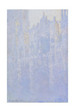 The Portal of Rouen Cathedral in the Morning Fog (Le Portal  Brouillard Matinal)  1894