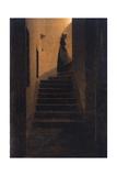 Caroline on the Stairs  1825