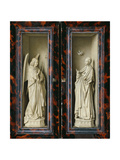 Winged Altarpiece 1437  Exterior Wings: Annunciation