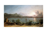 The Harbour at Rio De Janeiro  1864
