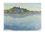 Lake Thun and the Stockhorn Mountains  1910