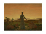 Woman before the Setting Sun  C 1818
