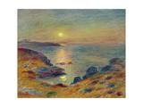 Sunset at Douarnenez  Ca  1883