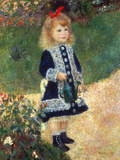 Girl with Watering Can  1876
