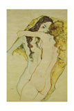 Zwei Frauen in Umarmung  1911