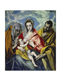 The Holy Family with Saint Anne  C 1595
