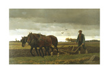 The Ploughman  1880