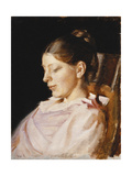 Portrait of Anna Ancher  the Artist's Wife
