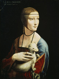 Lady with an Ermine (Portrait of Celilia Gallerani)  C 1490