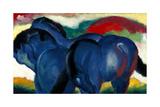 Little Blue Horses  1911