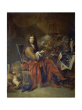 Portrait of Charles Le Brun  Painter to the King  1686