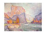 The Cliffs at Castellane  1902