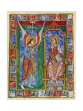 Albani Psalter  Annunciation  1121-1146