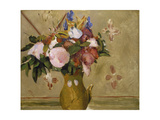 Flowers in a Vase  C 1886