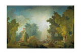 The Festival in the Park of St  Cloud  1778-80