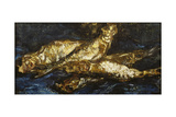 Still Life with Herrings  1886