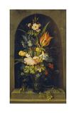 Flower Still Life in a Niche  1627