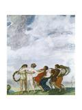 The Round Dance  1909