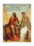 Othello and Desdemona  1844