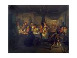 Good Time During an Evening in a Bavarian Inn  1861