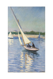 Sailing Boat at Argenteuil  1893